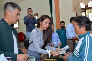Huyện Thanh Chương báo tiền Thủy Tiên từ thiện ít hơn xác nhận 2020