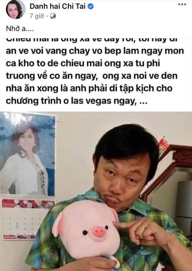 Phương Loan chia sẻ kỷ niệm xưa của Chí Tài chỉ vẻn vẹn 2 chữ khiến fan xót xa